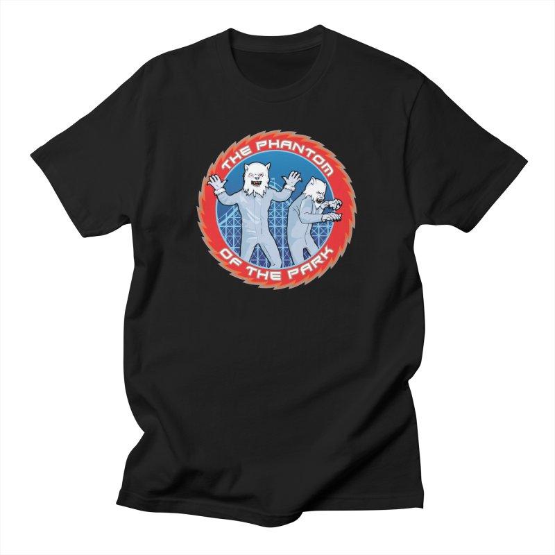 KISS The Phantom of the Park Men's T-Shirt by Klick Tee Shop