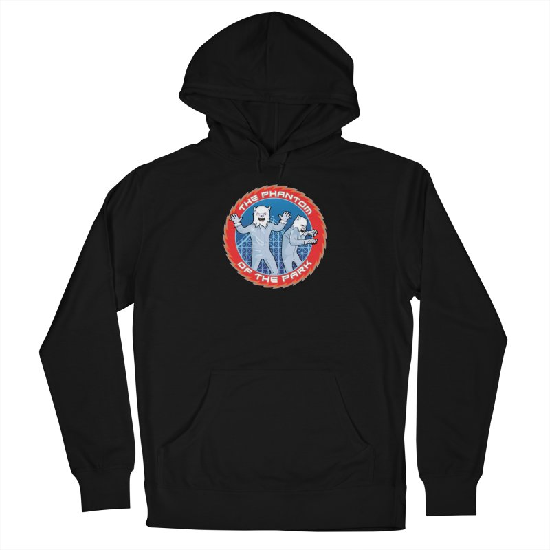 The Phantom of the Park Women's French Terry Pullover Hoody by Klick Tee Shop