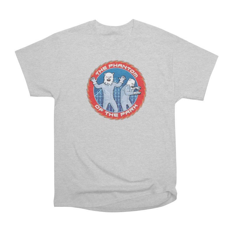 The Phantom of the Park Men's Heavyweight T-Shirt by Klick Tee Shop