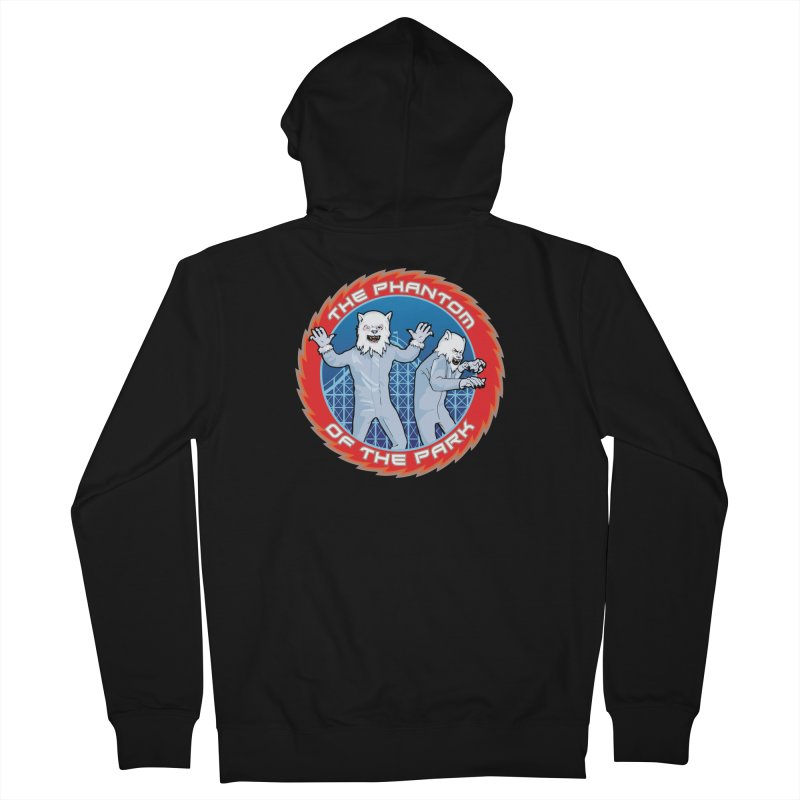 The Phantom of the Park Women's French Terry Zip-Up Hoody by Klick Tee Shop