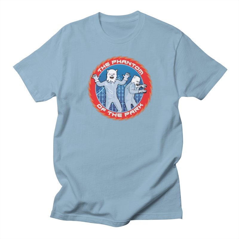 The Phantom of the Park Women's Regular Unisex T-Shirt by Klick Tee Shop