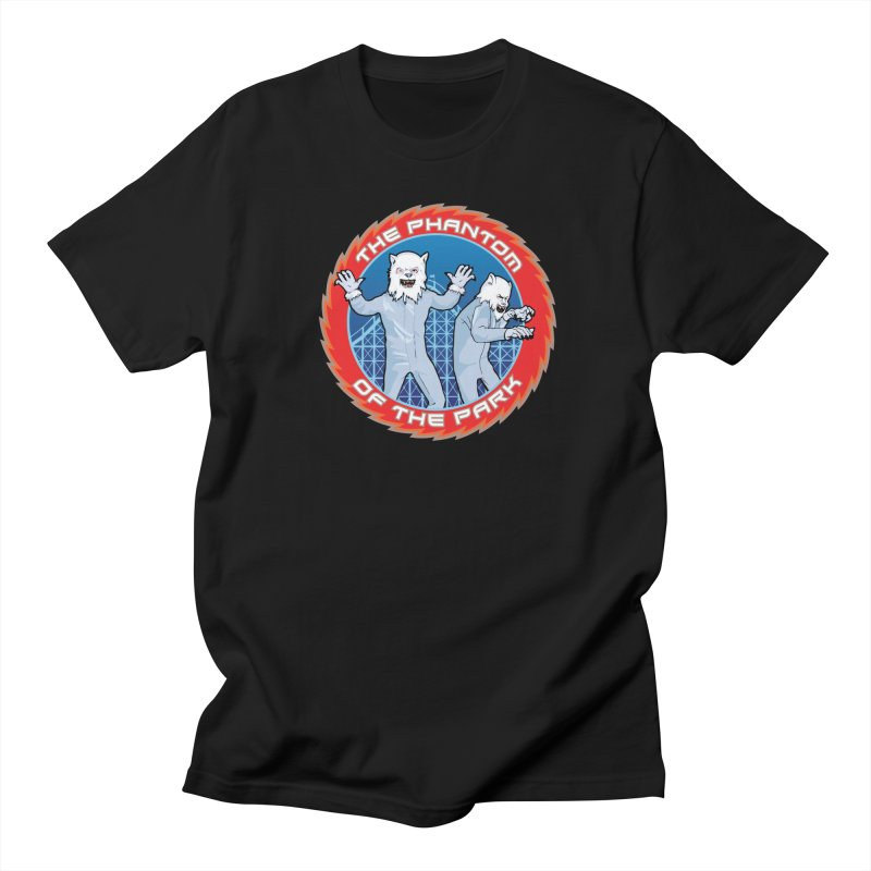 The Phantom of the Park Men's T-Shirt by Klick Tee Shop