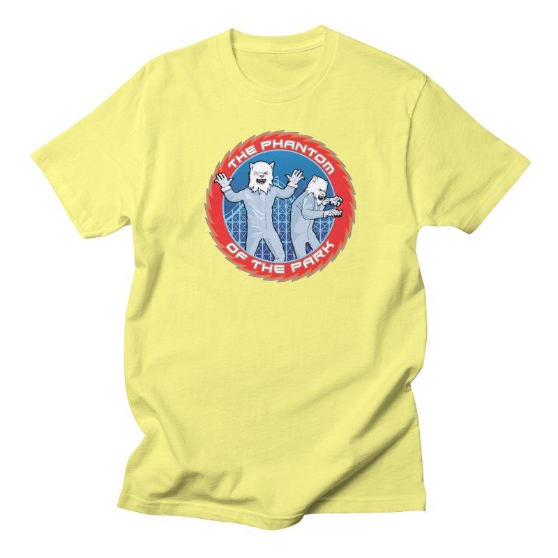 The Phantom of the Park Men's Regular T-Shirt by Klick Tee Shop