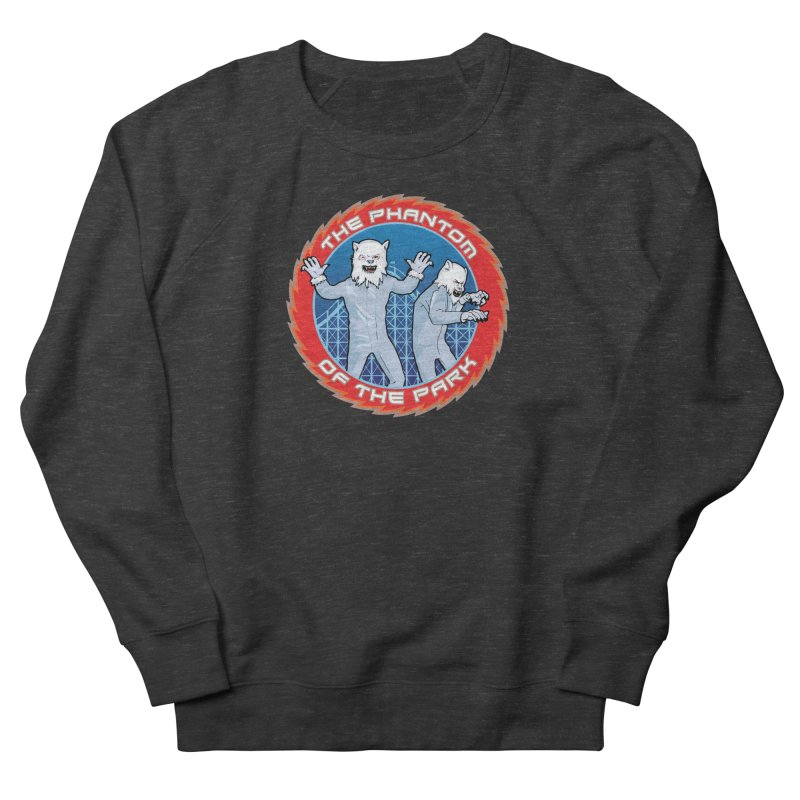 The Phantom of the Park Women's French Terry Sweatshirt by Klick Tee Shop