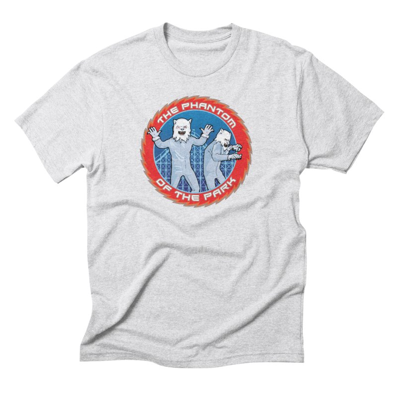 The Phantom of the Park Men's Triblend T-Shirt by Klick Tee Shop