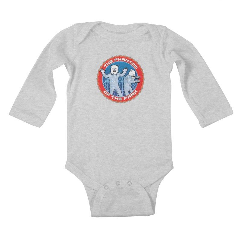 The Phantom of the Park Kids Baby Longsleeve Bodysuit by Klick Tee Shop