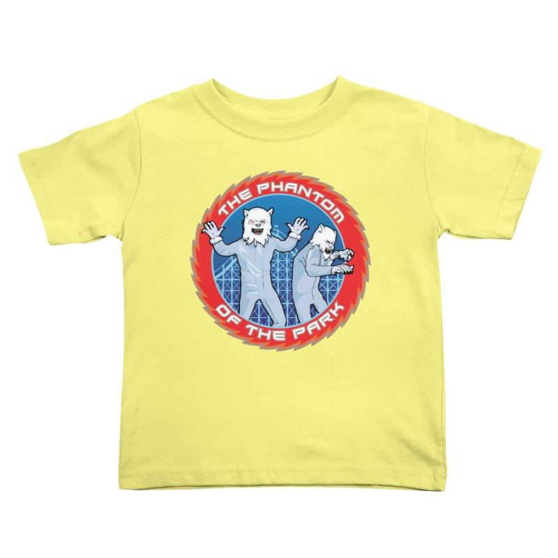 KISS The Phantom of the Park Kids Toddler T-Shirt by Klick Tee Shop