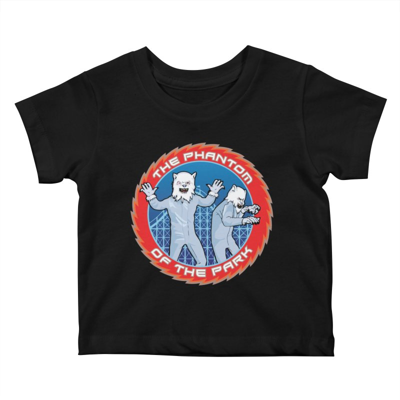 The Phantom of the Park Kids Baby T-Shirt by Klick Tee Shop