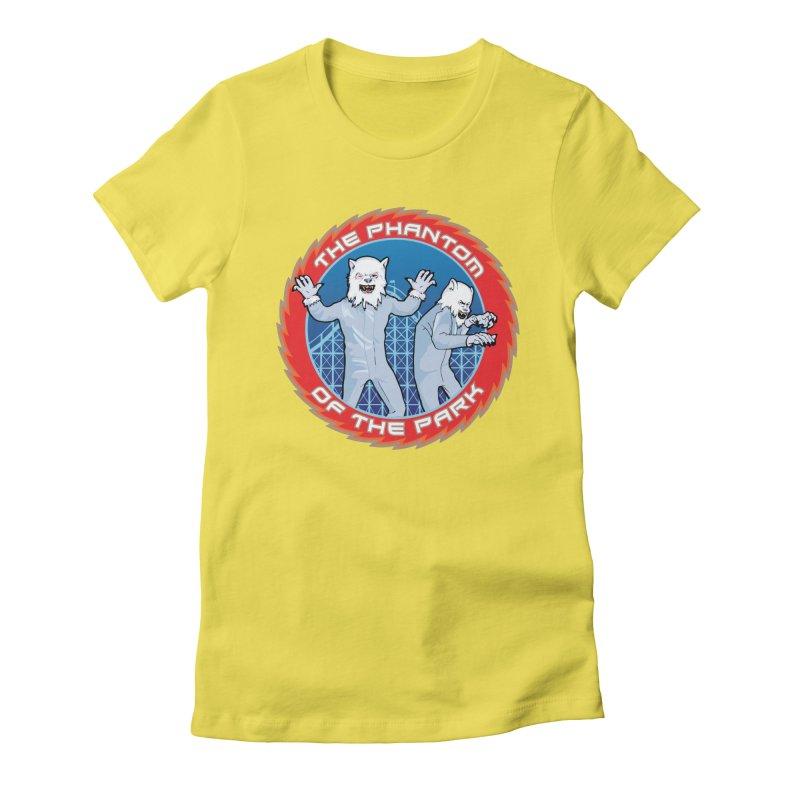 KISS The Phantom of the Park Women's T-Shirt by Klick Tee Shop