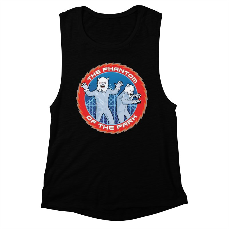 The Phantom of the Park Women's Muscle Tank by Klick Tee Shop