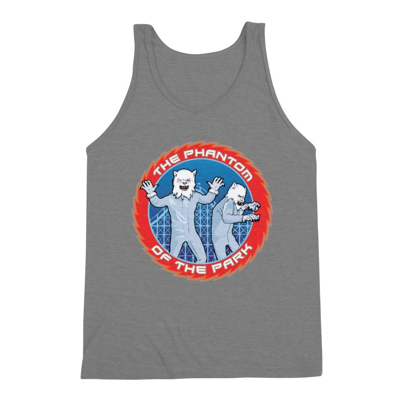 The Phantom of the Park Men's Triblend Tank by Klick Tee Shop