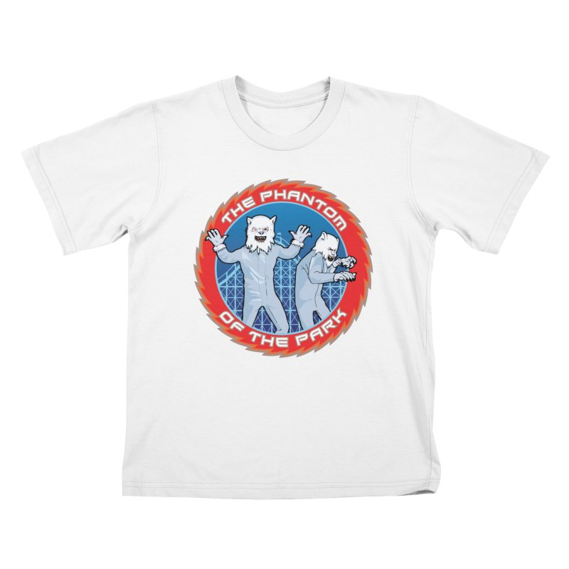 The Phantom of the Park Kids T-Shirt by Klick Tee Shop