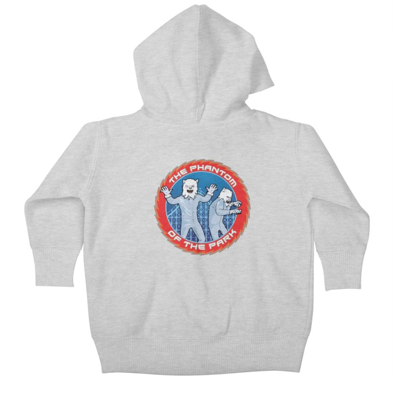 The Phantom of the Park Kids Baby Zip-Up Hoody by Klick Tee Shop