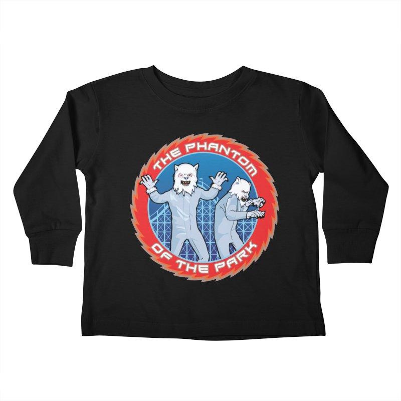 The Phantom of the Park Kids Toddler Longsleeve T-Shirt by Klick Tee Shop