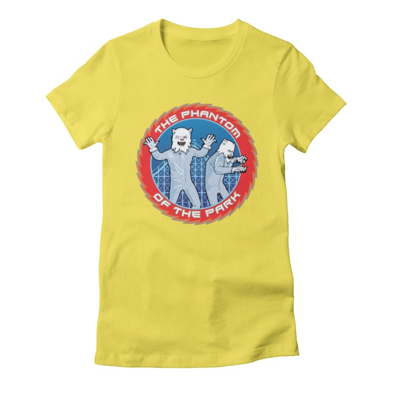 The Phantom of the Park Women's T-Shirt by Klick Tee Shop