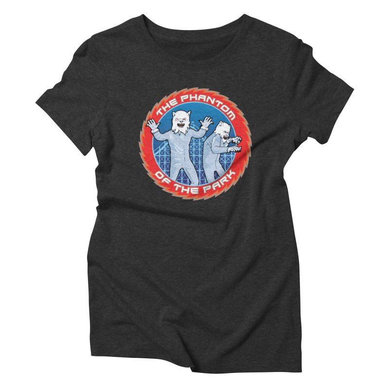 The Phantom of the Park Women's Triblend T-Shirt by Klick Tee Shop