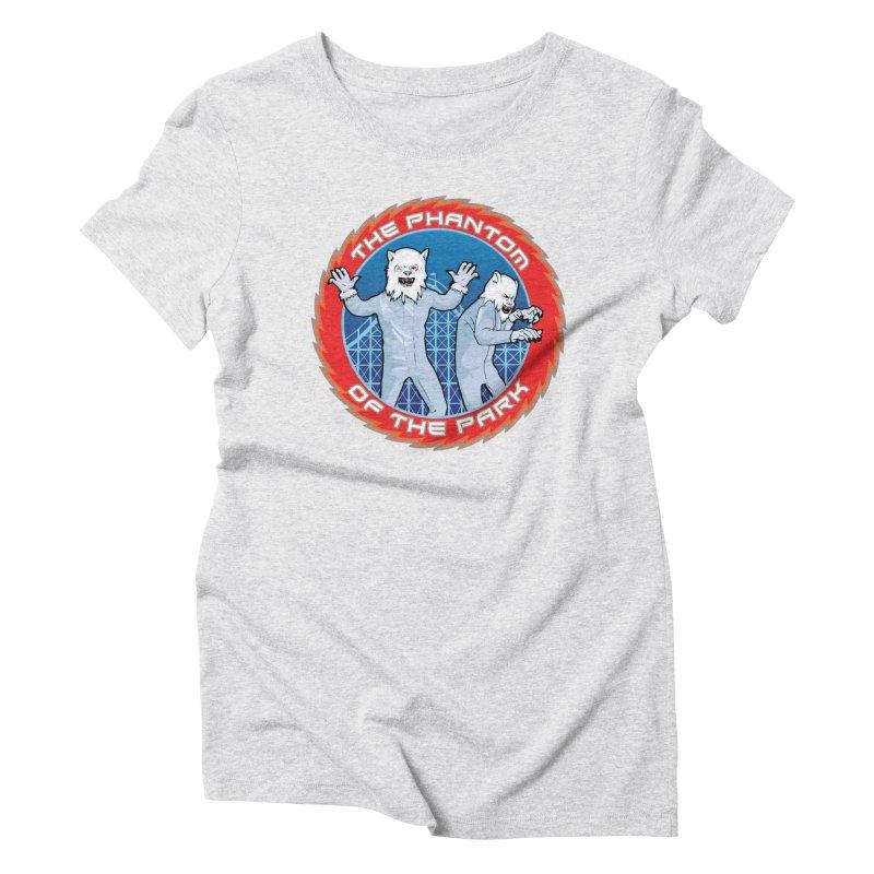 The Phantom of the Park Women's T-Shirt by Klick Tee Shop