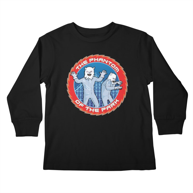 KISS The Phantom of the Park Kids Longsleeve T-Shirt by Klick Tee Shop