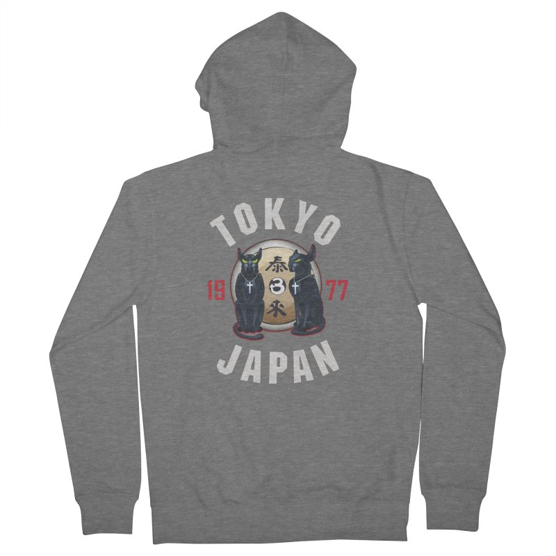 Tom & Jerry Tokyo '77 Women's French Terry Zip-Up Hoody by Klick Tee Shop