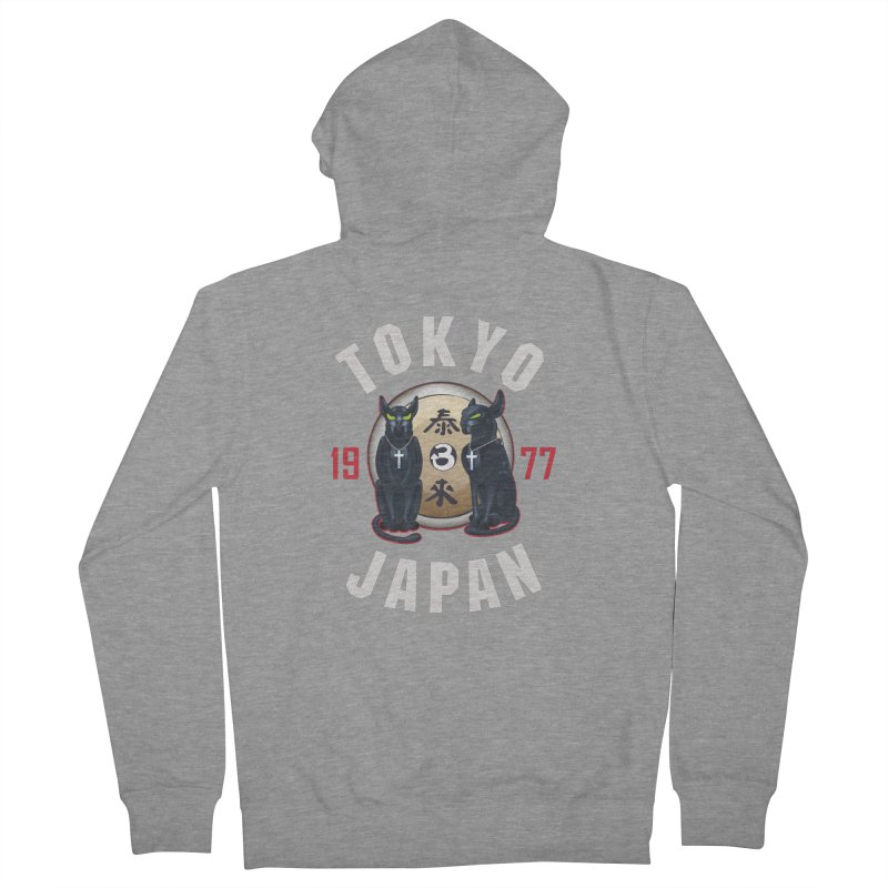 Tom & Jerry Tokyo '77 Women's French Terry Zip-Up Hoody by Klick Tee Shop