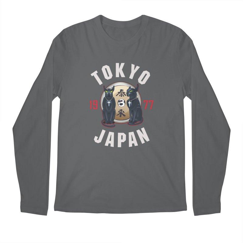 Tom & Jerry Tokyo '77 Men's Regular Longsleeve T-Shirt by Klick Tee Shop
