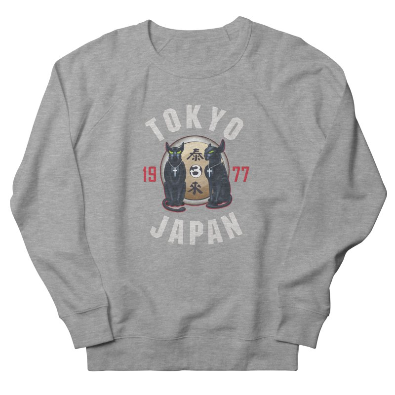 Tom & Jerry Tokyo '77 Women's French Terry Sweatshirt by Klick Tee Shop