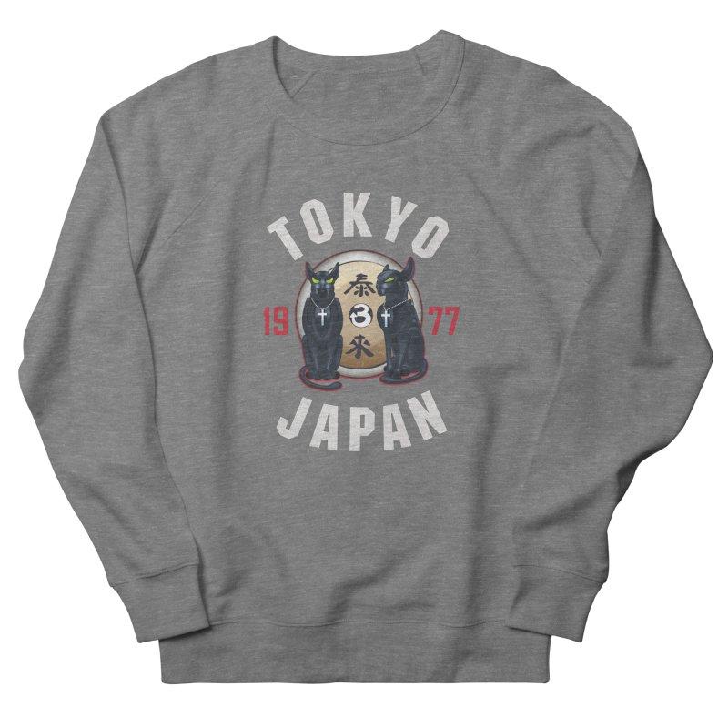Tom & Jerry Tokyo '77 Men's French Terry Sweatshirt by Klick Tee Shop