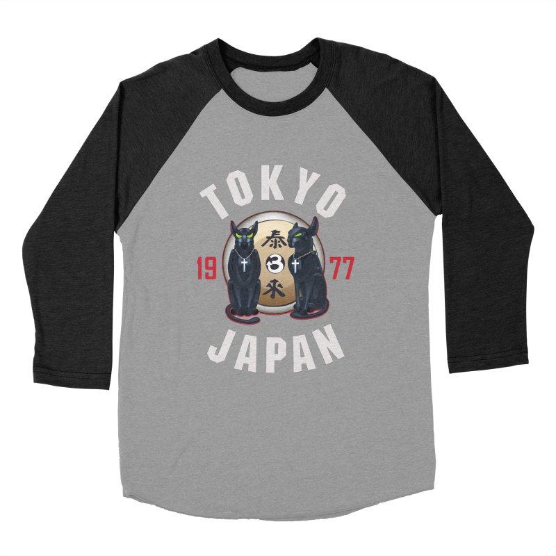 Tom & Jerry Tokyo '77 Women's Baseball Triblend Longsleeve T-Shirt by Klick Tee Shop