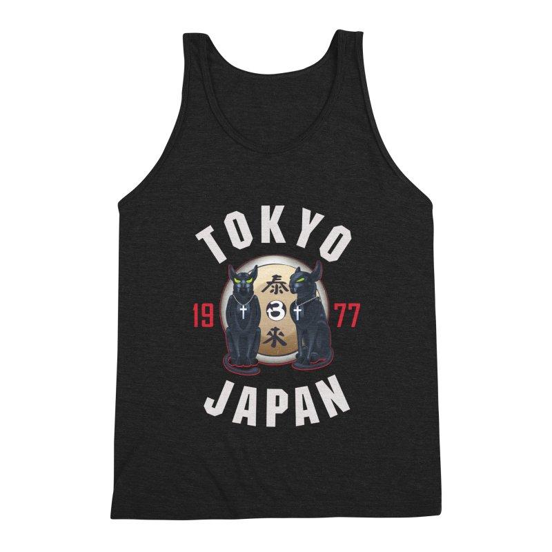 Tom & Jerry Tokyo '77 Men's Tank by Klick Tee Shop