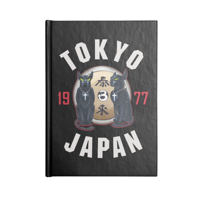 Tom & Jerry Tokyo '77 Accessories Lined Journal Notebook by Klick Tee Shop
