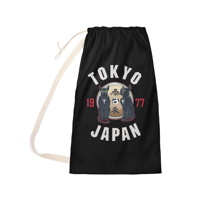 Tom & Jerry Tokyo '77 Accessories Laundry Bag Bag by Klick Tee Shop