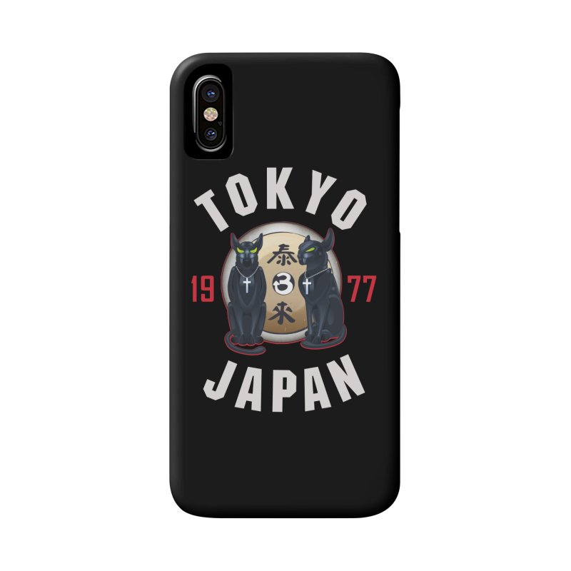 Tom & Jerry Tokyo '77 Accessories Phone Case by Klick Tee Shop