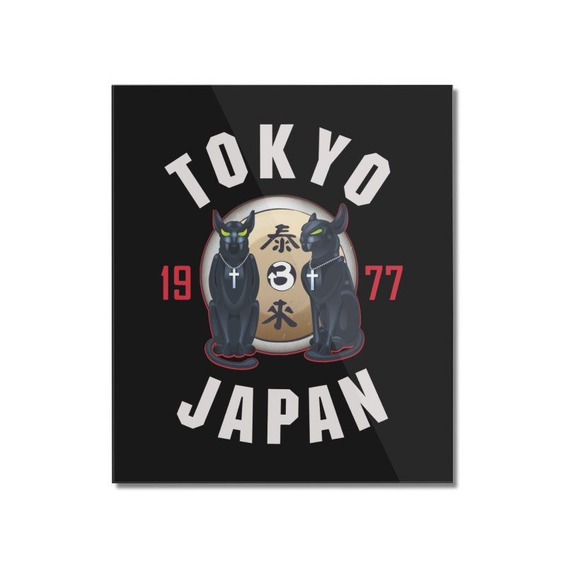 Tom & Jerry Tokyo '77 Home Mounted Acrylic Print by Klick Tee Shop