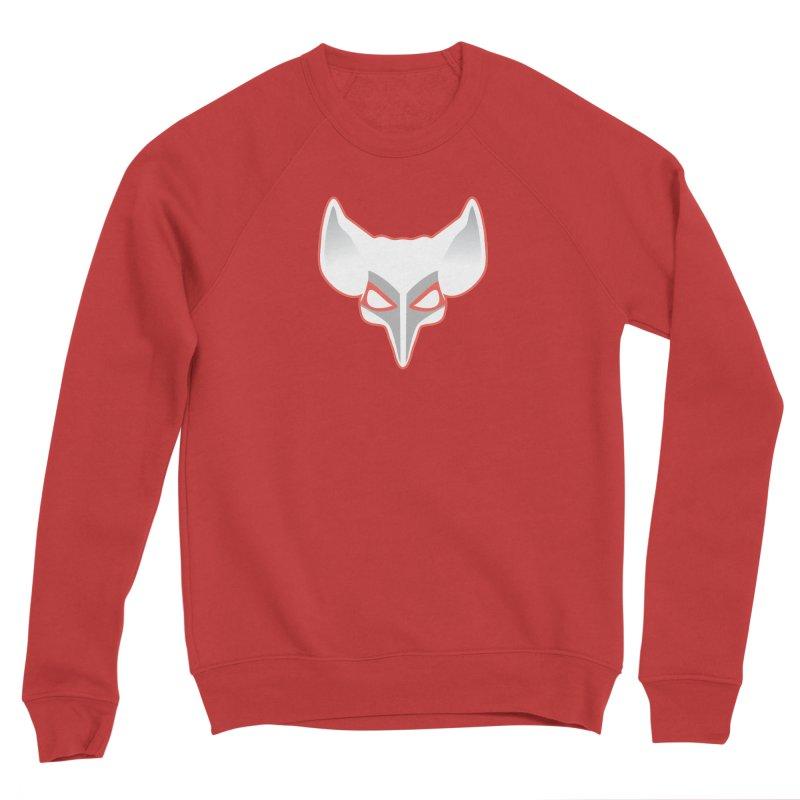The Fox Men's Sponge Fleece Sweatshirt by Klick Tee Shop