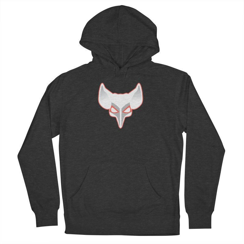 The Fox Men's French Terry Pullover Hoody by Klick Tee Shop