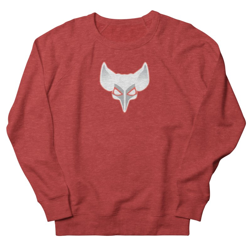 The Fox Men's French Terry Sweatshirt by Klick Tee Shop
