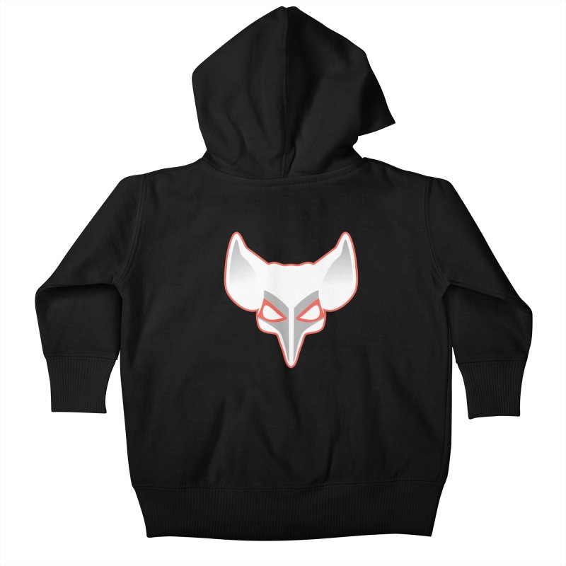 The Fox Kids Baby Zip-Up Hoody by Klick Tee Shop