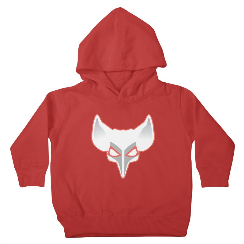 The Fox Kids Toddler Pullover Hoody by Klick Tee Shop