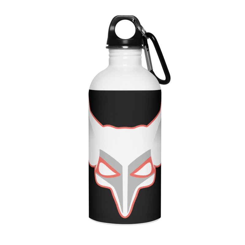 The Fox Accessories Water Bottle by Klick Tee Shop