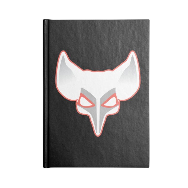 The Fox Accessories Blank Journal Notebook by Klick Tee Shop