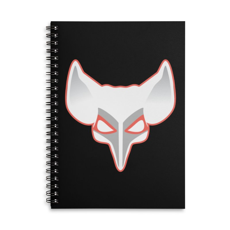 The Fox Accessories Lined Spiral Notebook by Klick Tee Shop