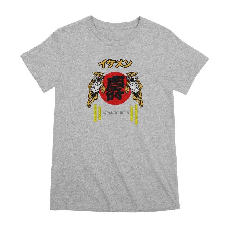 Ikemen Japan 2018 Women's Premium T-Shirt by Klick Tee Shop