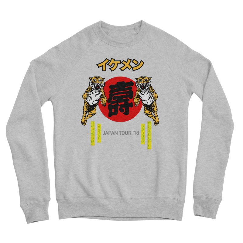 Ikemen Japan 2018 Men's Sponge Fleece Sweatshirt by Klick Tee Shop