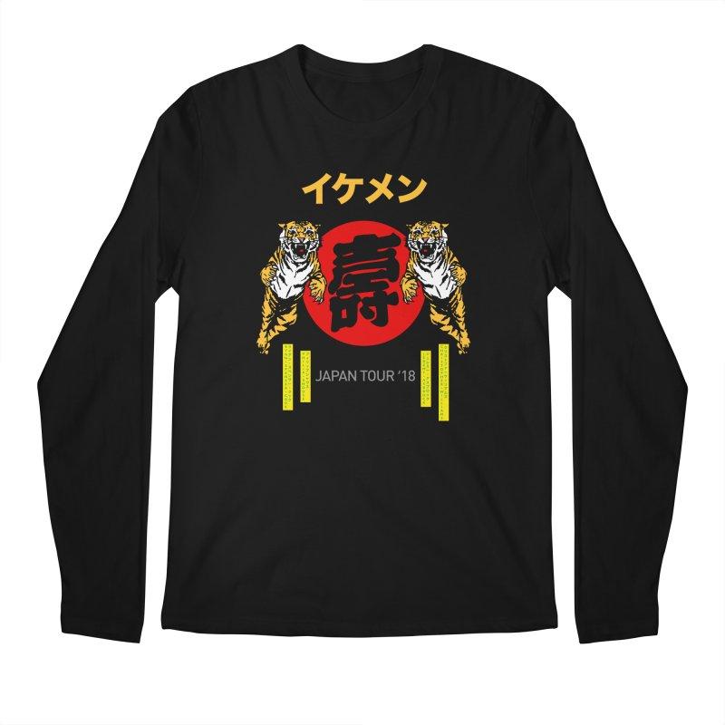 Ikemen Japan 2018 Men's Regular Longsleeve T-Shirt by Klick Tee Shop