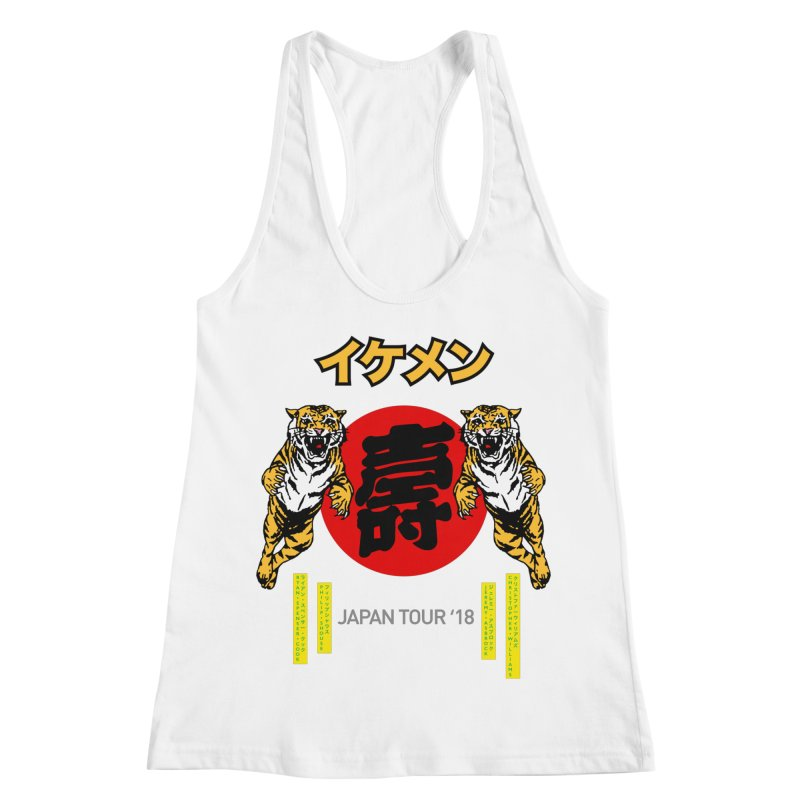 Ikemen Japan 2018 Women's Racerback Tank by Klick Tee Shop