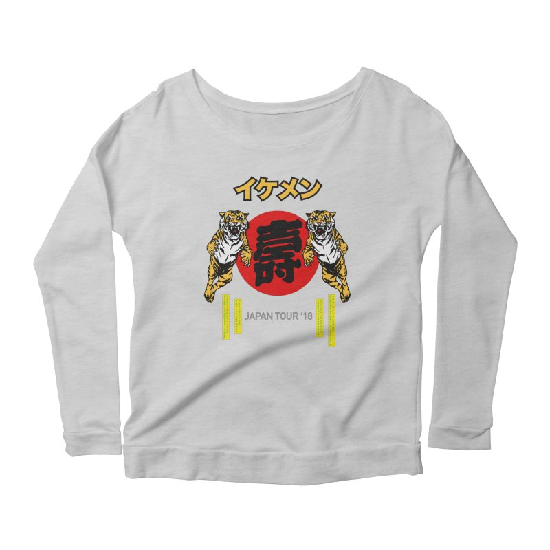 Ikemen Japan 2018 Women's Longsleeve T-Shirt by Klick Tee Shop