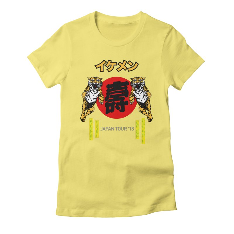 Ikemen Japan 2018 Women's Fitted T-Shirt by Klick Tee Shop