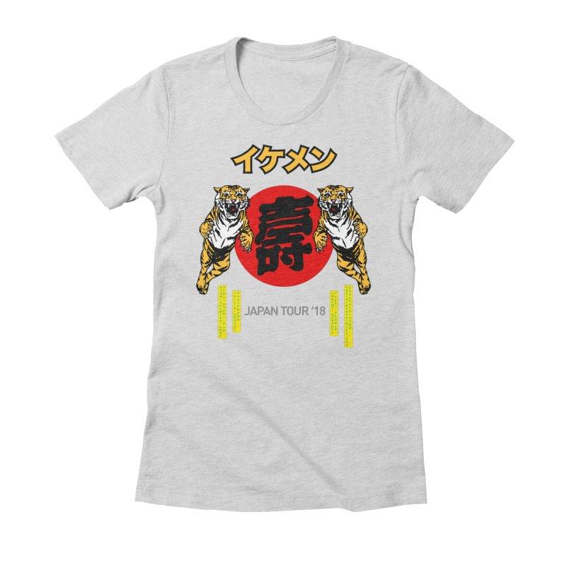 Ikemen Japan 2018 Women's Fitted T-Shirt by Klick Tee Shop