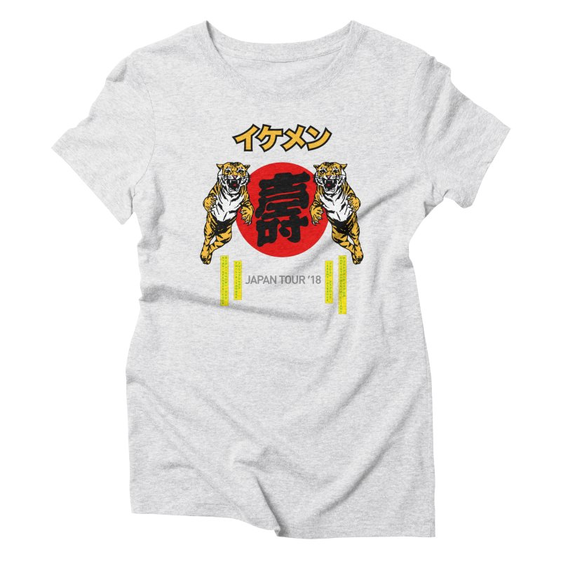 Ikemen Japan 2018 Women's Triblend T-Shirt by Klick Tee Shop