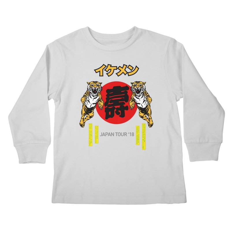 Ikemen Japan 2018 Kids Longsleeve T-Shirt by Klick Tee Shop